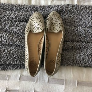 Vince Camuto Women's Silver Flats